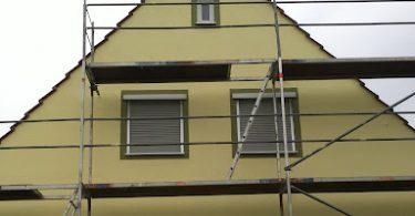 Haus streichen