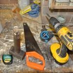 Werkzeug in Garage