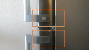 Kühlschranktür umbauen Schritt 1
