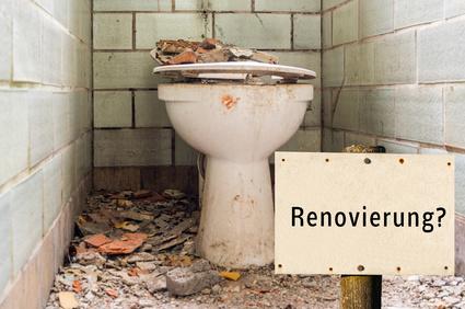 Sanitärausstattung renovieren