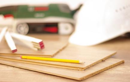 Renovierungsarbeiten als Mieter