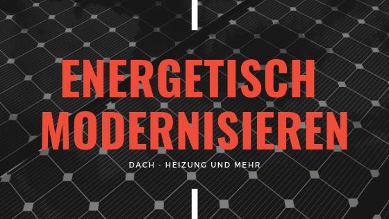 Energetisch Modernisieren